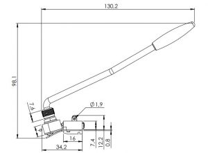 Schaller Tremolo Les Paul™ Right, Chrome