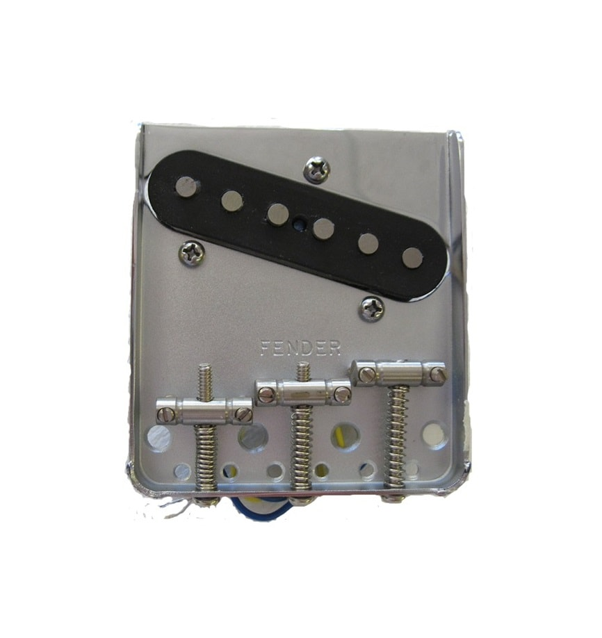Fender 174 3 Saddle American Vintage Tc Bridge Assembly Brass