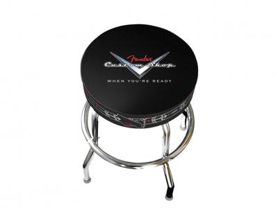 "Fender® Custom Shop 24"" Pinstripe Barstool"