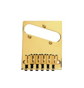 Fender® 6-Saddle American Series Telecaster® Bridge Assemblies - Gold