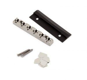 Fender® LSR Roller Nut - Brushed Chrome