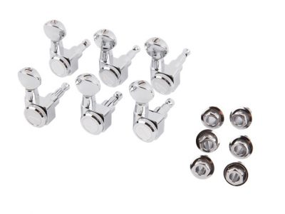 Fender® Locking Stratocaster®/Telecaster® Tuning Machines, Vintage Buttons
