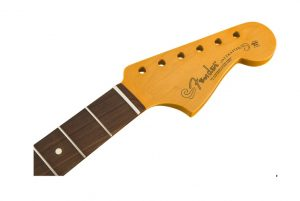 Fender® Classic Player 60's Stratocaster Neck, 21 Med Jumbo Frets, C Shape, Pau Ferro