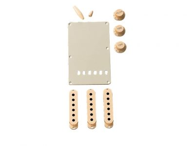 Fender® Stratocaster® Accessory Kit - Aged White