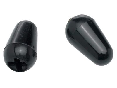 Fender® Stratocaster® Switch Tips - Black