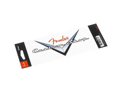 Fender® Custom Shop Logo Chevron Sticker