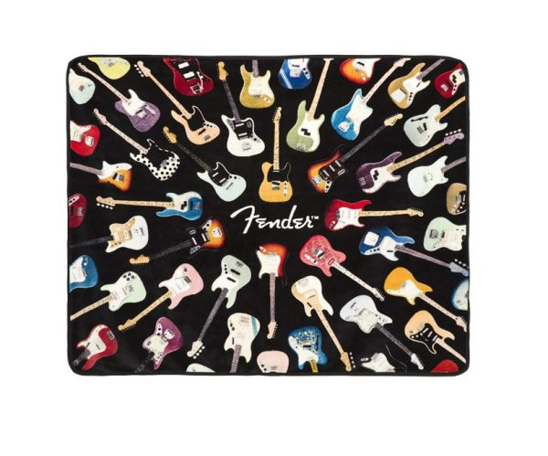 Fender™ Throw Blanket 50 x 60