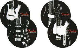 Fender™ Classic Guitars Coaster Set