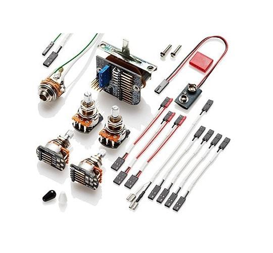 emg solderless wiring kit for 3 pickups 3251 solo guitars. Black Bedroom Furniture Sets. Home Design Ideas