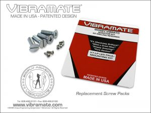 Vibramate Standard V5 Hardware Pack - Chrome