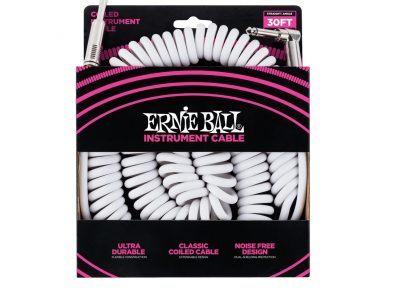 Ernie Ball 30' Coiled Straight