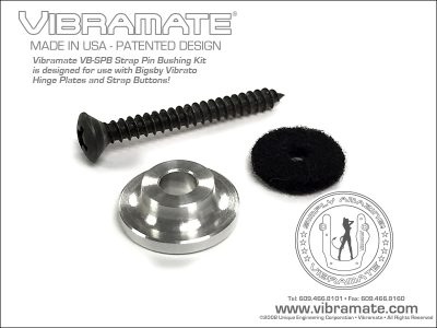 Vibramate Strap Pin Bushing Kit - Gold