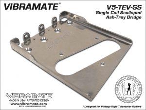 Vibramate V5-TEV Stage II Ashtray Bridge Only - Chrome