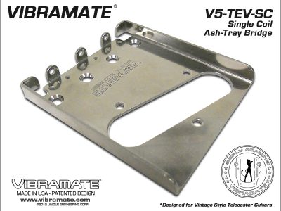 Vibramate V5-TEV Stage II Ashtray Bridge Only - Chrome