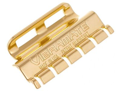 Vibramate String Spoiler For Bigsby Vibratos - Gold
