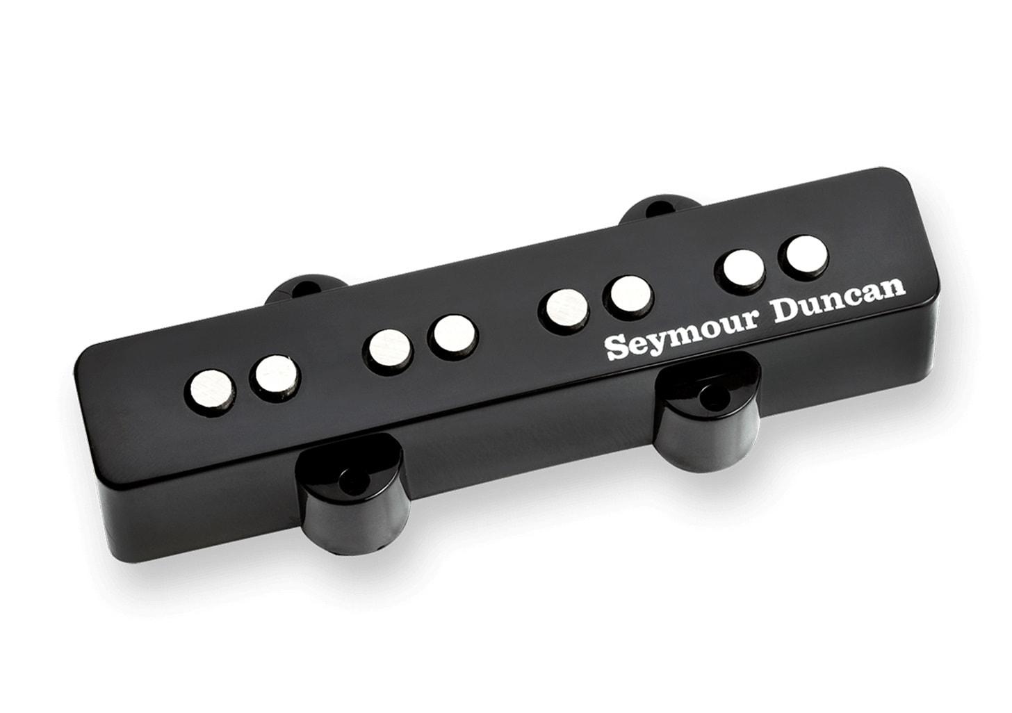 seymour duncan stkj2b hot stack jazz bass bridge pickup black solo guitars. Black Bedroom Furniture Sets. Home Design Ideas