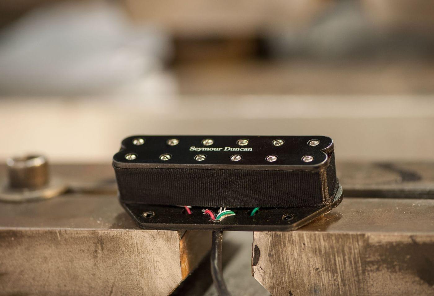seymour duncan st59 1 little 39 59 humbucker tele bridge pickup black solo guitars. Black Bedroom Furniture Sets. Home Design Ideas