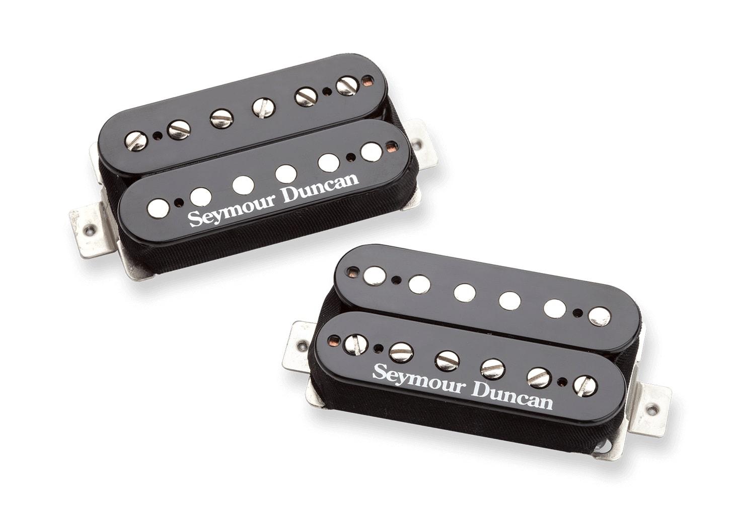seymour duncan black winter humbucker pickup set solo guitars. Black Bedroom Furniture Sets. Home Design Ideas