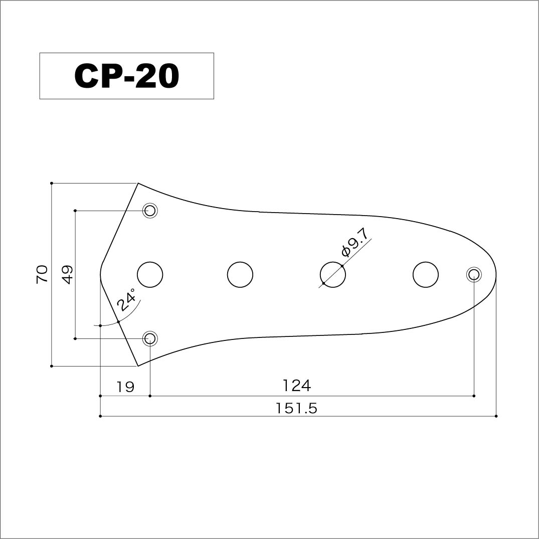 gotoh cp 20 aged chrome relic series bass control plate solo guitars. Black Bedroom Furniture Sets. Home Design Ideas