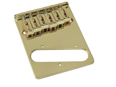 Gotoh GTC201 Gold Tele Bridge with Brass