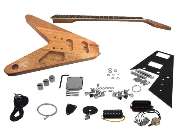 DIY Electric Guitar Kit, B-Stock Plus