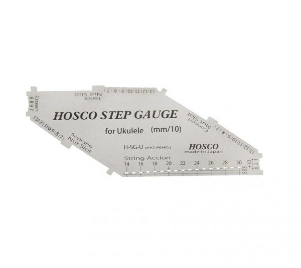 Hosco HSG-U Step Gauge For Ukulele