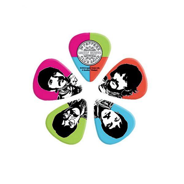 D'Addario Beatles Sgt. Pepper's Pick Set