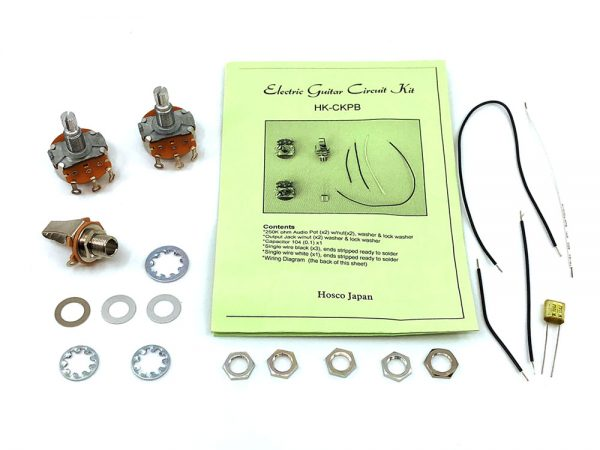Precision Style Bass Wiring Kit