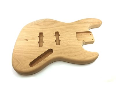Solo Pro JB Style 2Pc Alder Unfinished Bass Body