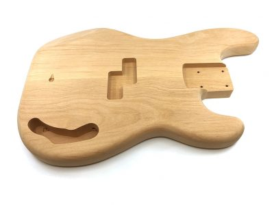 Solo Pro PB Style 2Pc Alder Unfinished Bass Body