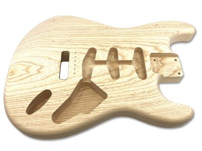 Solo Pro ST Style 1Pc Swamp Ash Unfinished Guitar Body