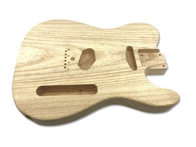 Solo Pro TC Style 1Pc Swamp Ash Unfinished Guitar Body