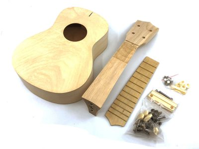 Soprano Ukulele DIY Kit, Basswood Body