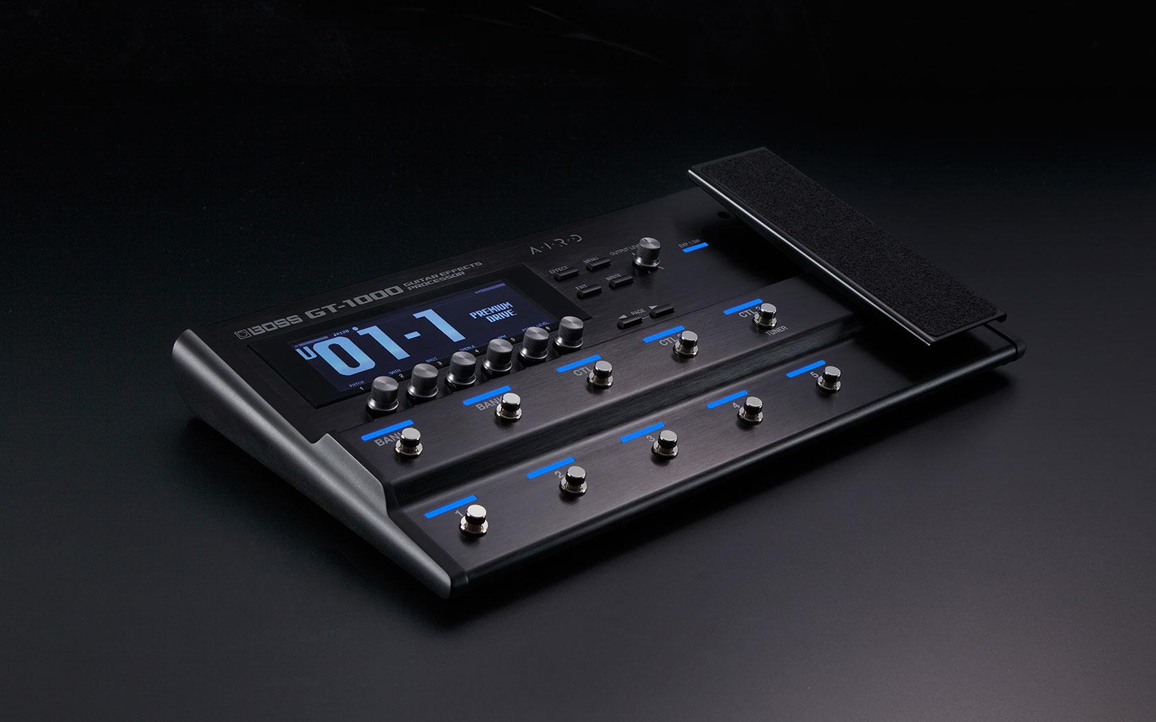 boss gt 1000 guitar amp effects processor solo guitars. Black Bedroom Furniture Sets. Home Design Ideas
