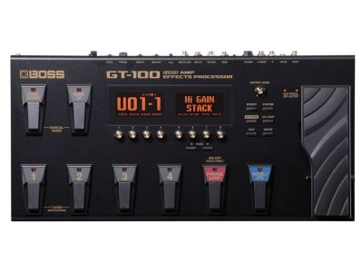 Boss GT-100 Guitar Amp Effects Processor