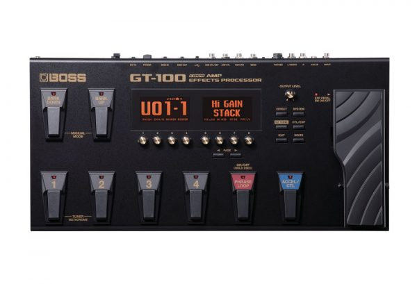 Boss GT-100 Guitar Amp Effects Processor