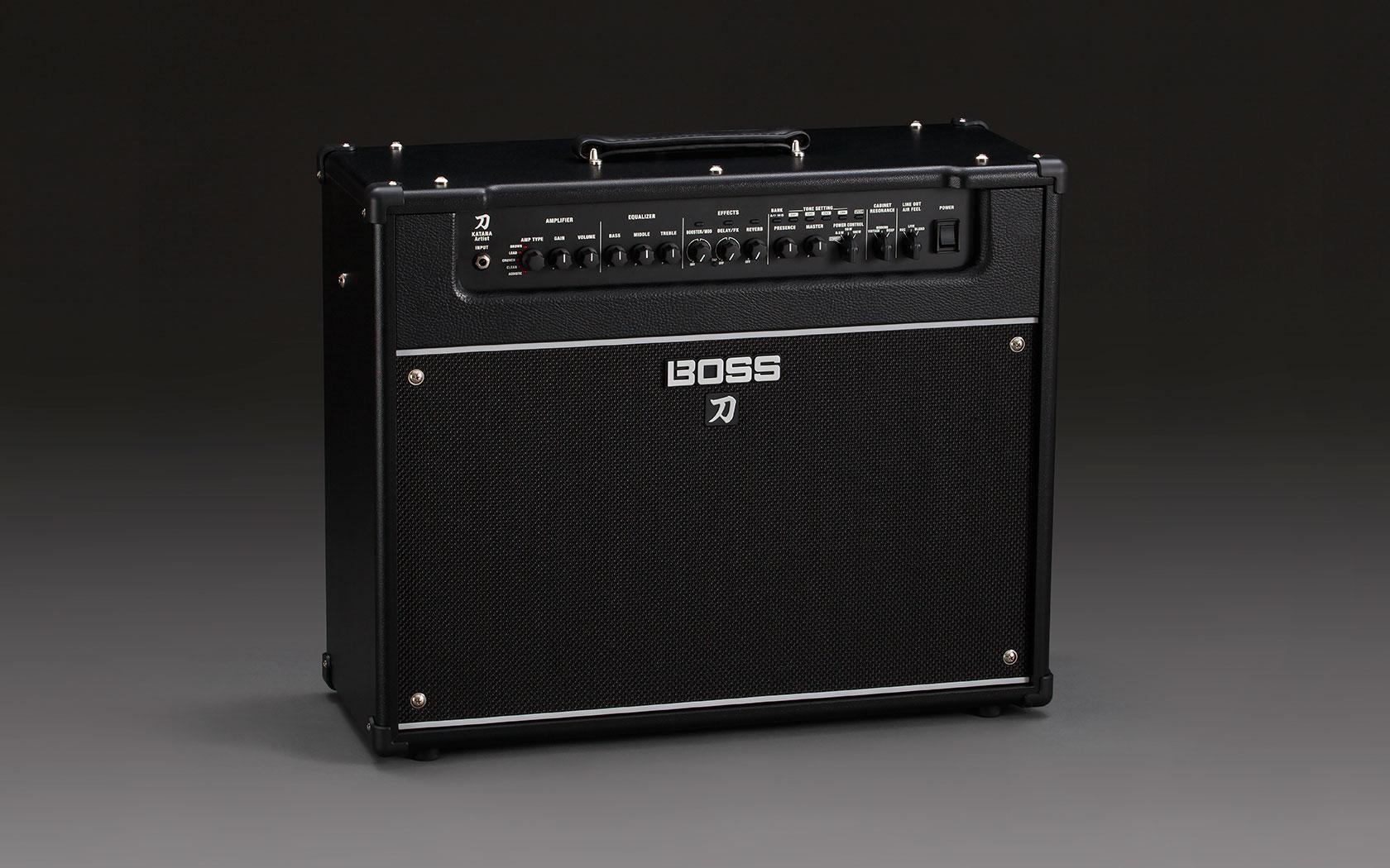 boss ktn artist katana guitar amplifier solo guitars. Black Bedroom Furniture Sets. Home Design Ideas