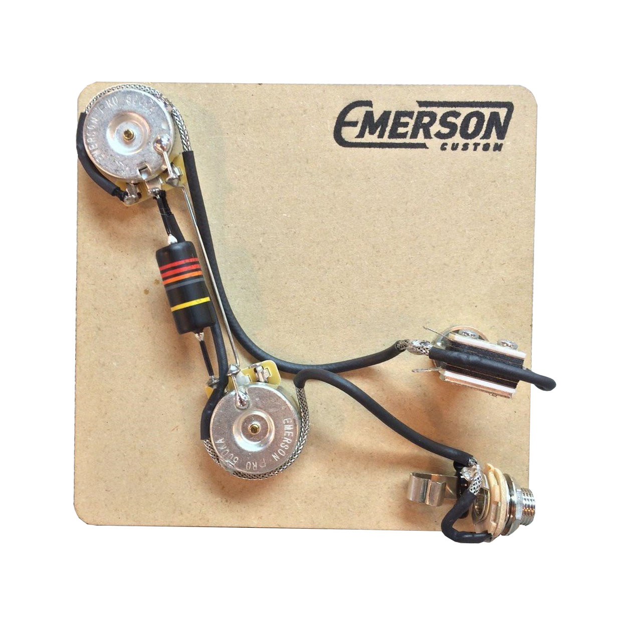 emerson custom 2 knob prewired kit for prs guitars solo. Black Bedroom Furniture Sets. Home Design Ideas