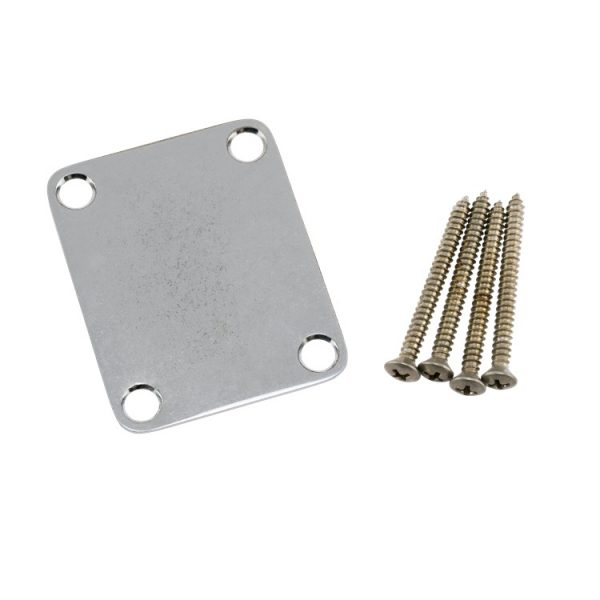 Guitar Neck Plate With Hardware