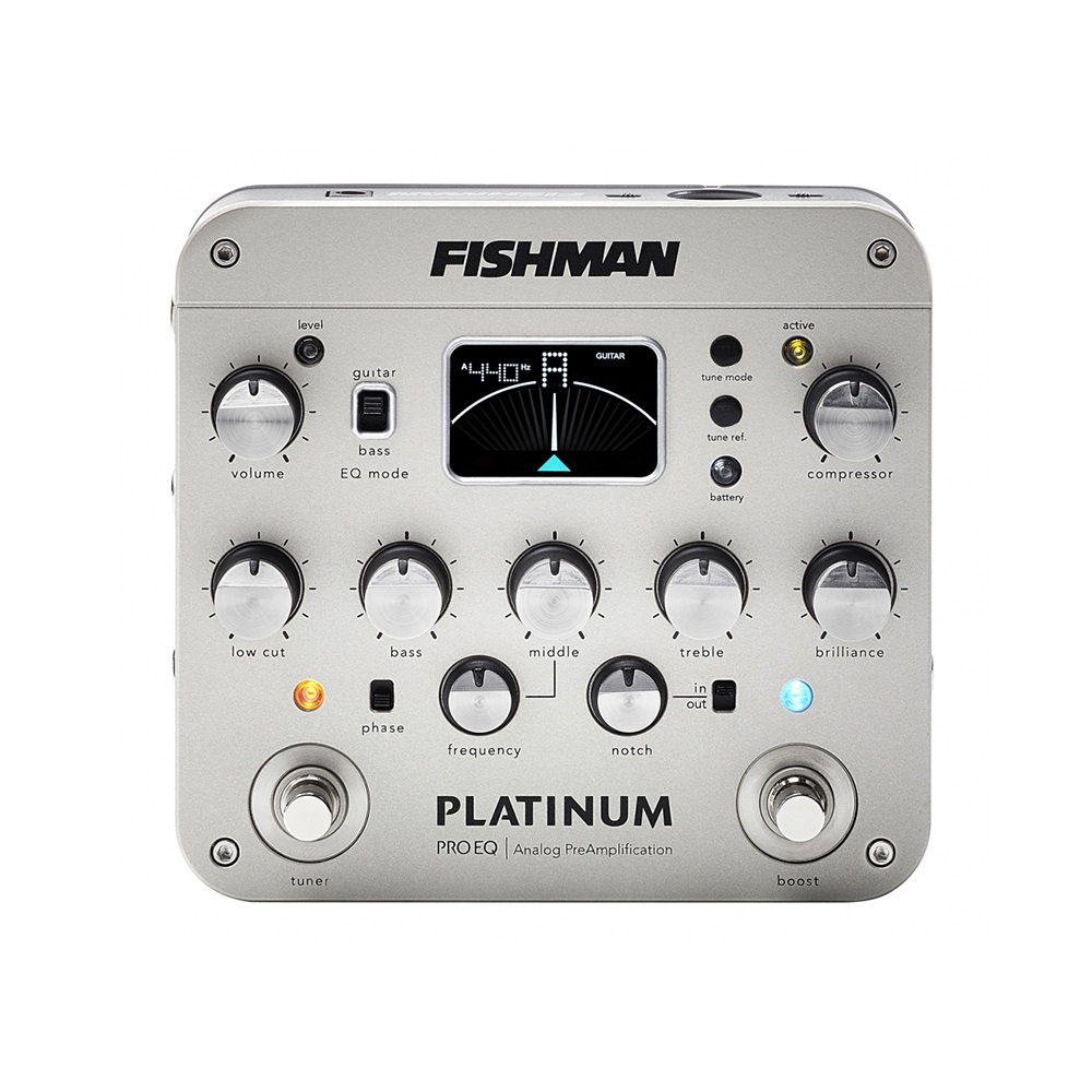 fishman platinum pro eq di analog preamp solo guitars. Black Bedroom Furniture Sets. Home Design Ideas