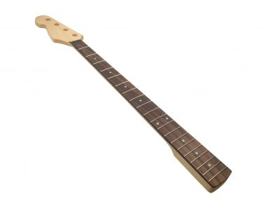 Solo JB Style Left Handed Maple Bass Neck