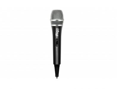 IK Multimedia iRig Mic Handheld iOS Microphone
