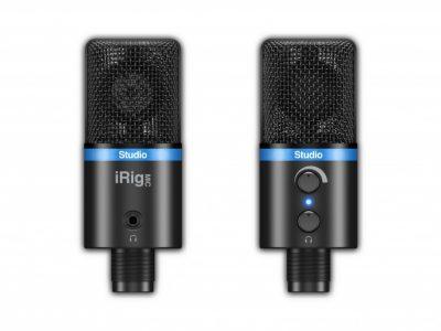 IK Multimedia iRig Mic Studio USB Condenser Microphone