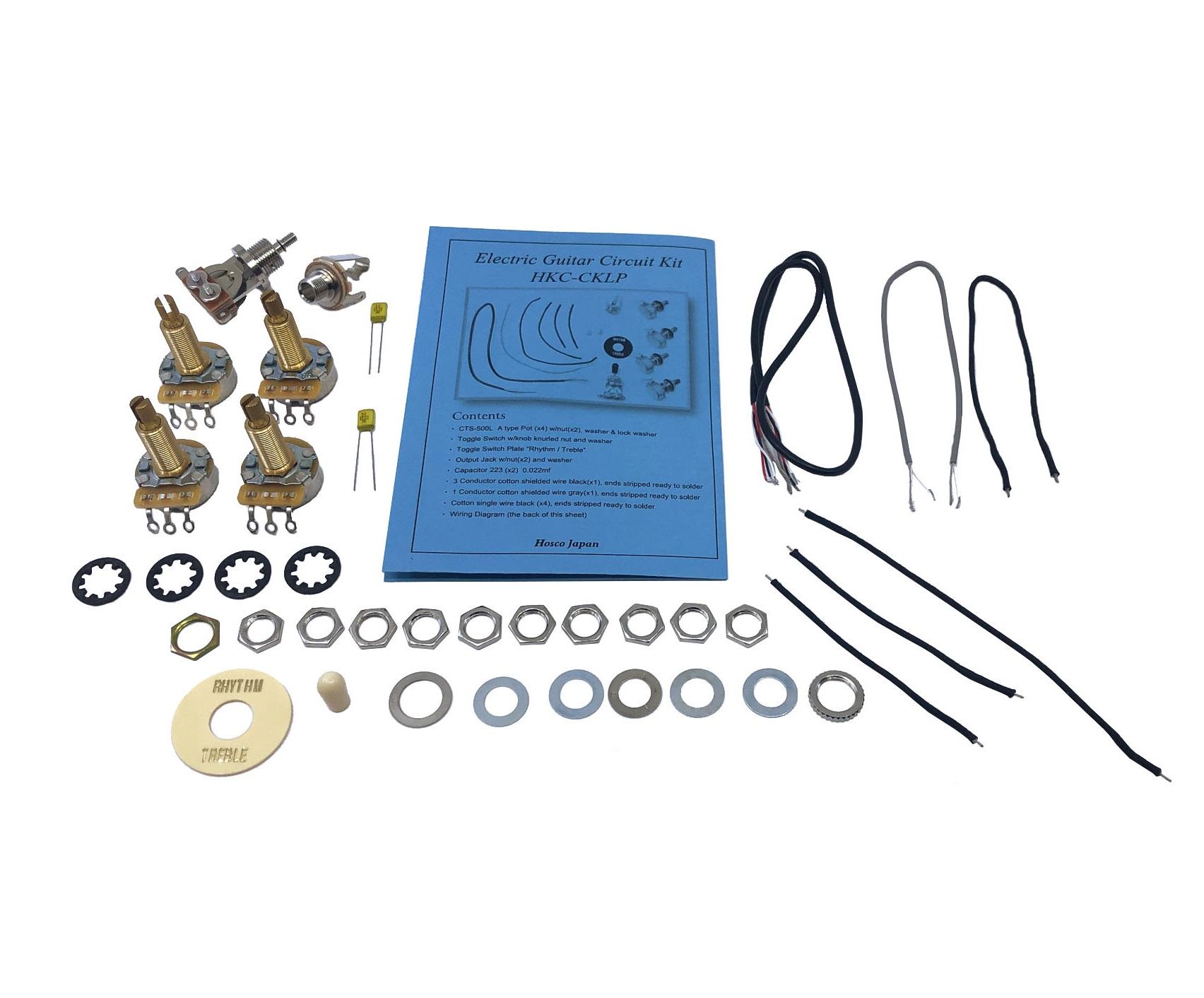 Premium Les Paul Guitar Wiring Kit Manual Guide