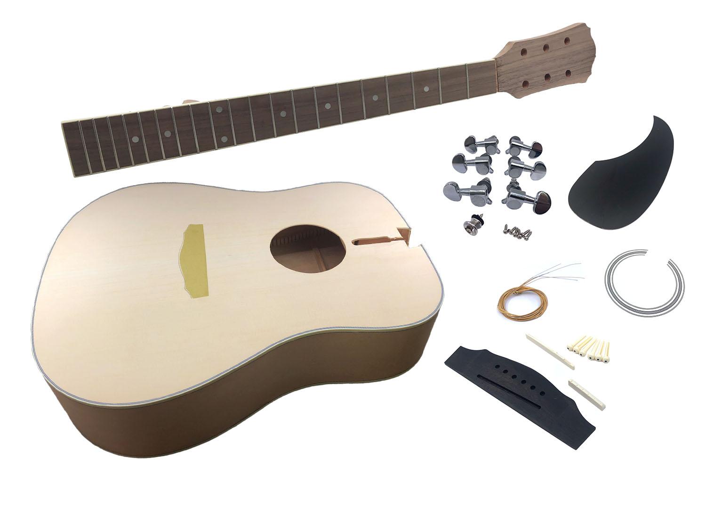 Solo Adk 10 Diy Acoustic Guitar Kit Ebay