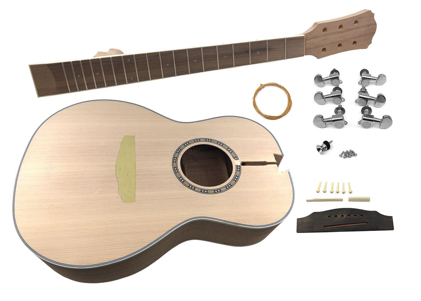 Solo Apk 10 Diy Parlour Acoustic Guitar Kit Ebay