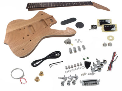 Diy Electric Guitar Kits Build Your Own Guitar Kit Solo Music Gear