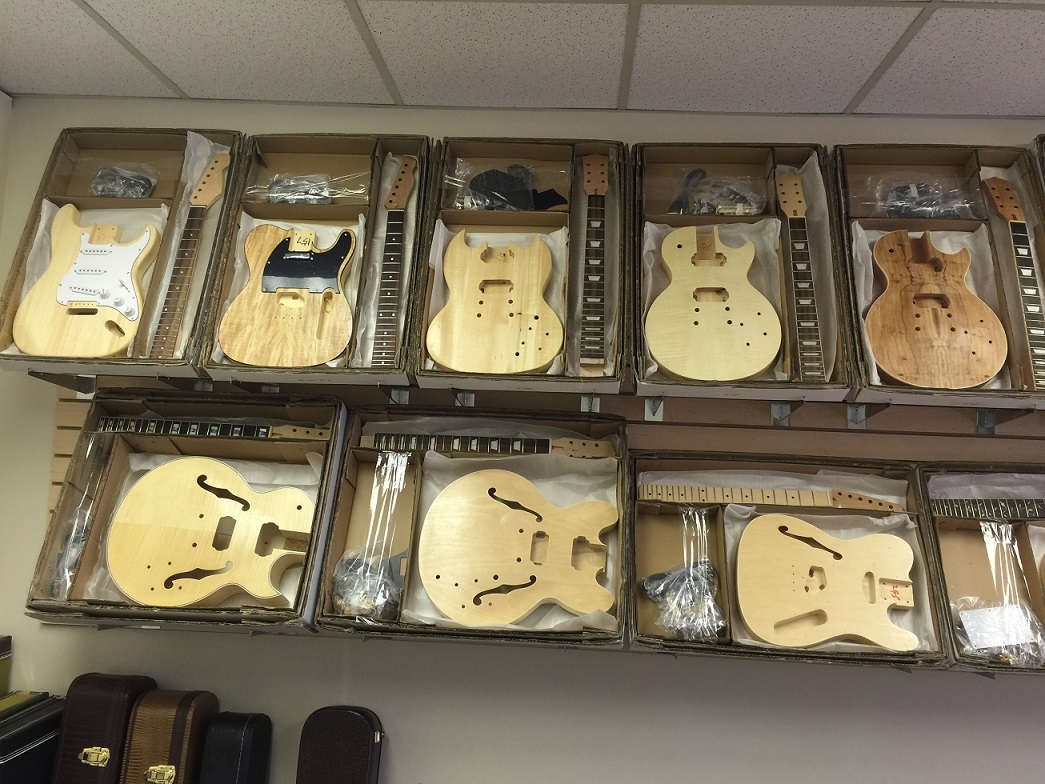 Diy guitar kits the largest selection of do it yourself guitars you can also visit our facebook page to see what some of our customers are creating solutioingenieria Gallery