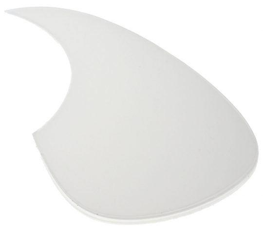Solo Pro Transparent Pickguard, Martin Style with Self Adhesive