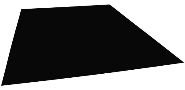 Solo Pro Pickguard Sheet Blank with Self Adhesive in Black